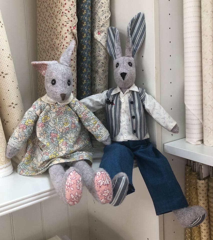 Making Luna Lapin or Alfie Saturday 21st March  9.30am - 4pm