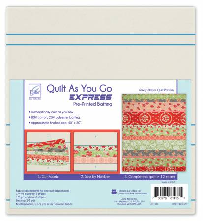 Quilt As You Go Express - Savvy Strips