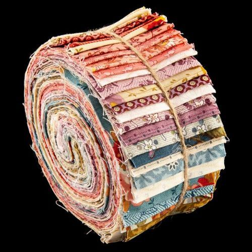 Roly Poly Fabric Rolls