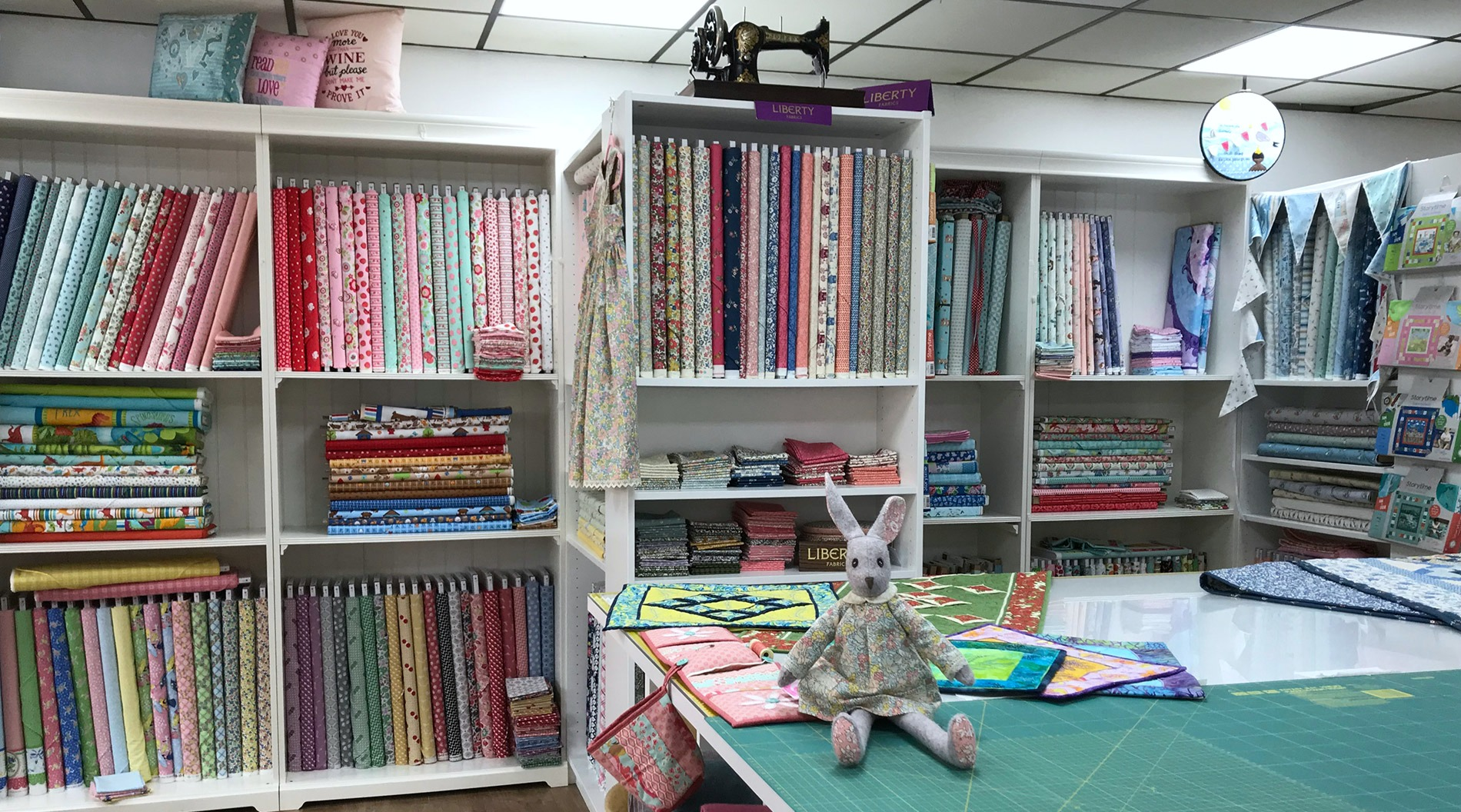 patchwork fabric shops uk