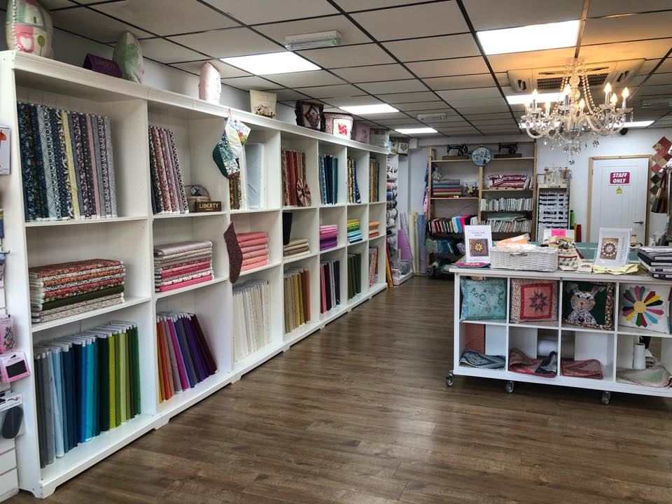 From Rags To Stitches, 85 High Street, Maltby, Rotherham Patchwork Quilting Fabric Sewing Lessons Shop